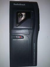 Grabadora de teléfono Microcasete Radioshack 43-476. activación por voz de 2 velocidades