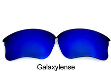 Galaxy Replacement Lenses For Oakley Flak Jacket XLJ Sunglasses Blue Polarized