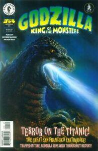 Godzilla King of the Monsters 11 Terror on the Titanic  Bob Eggleton Toho NM