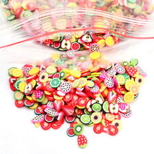 1000X Nail Art Mix Design Fimo Slices Polymer Clay Stickers Decoration Manicure