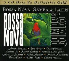 BOSSA NOVA, SAMBA, LATIN - GILBERTO GIL, MILTON NASCIMENTO, CAL TJADER 5 CD NEUF