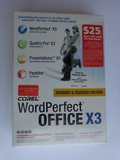 Corel WordPerfect Office X3 Student and Teacher Edition (Sealed Retail Box)