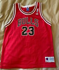 Retro Michael Jordan Chicago Bulls NBA Basketball Jersey Champion Youth Size XL