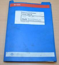 VW Passat B5 Motronic Einspritz und Zündanlage 1,8L Werkstatthandbuch Leitfaden
