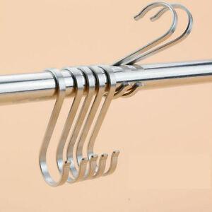 S-Haken 304 B# Edelstahl Kleiderhaken Küche Metallhaken 10 Stück