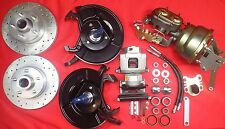 1954 1955 1956 FORD FULL SIZE CAR FRONT DISC BRAKE CONVERSION  GRANADA SPINDLE