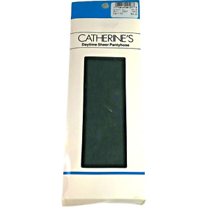 Catherines Off Black Pantyhose Nylons Hosiery Daytime Sheer Plus Size A Dressy