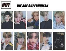 9pcs/set Kpop NCT127 We are Superhuman Paper Photo Cards NCT Autograph Photocard