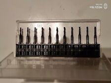 11X Sehr scharfe Vollhartmetall Fräser mit AlTiN Beschichtung Fräsbreite 2mm