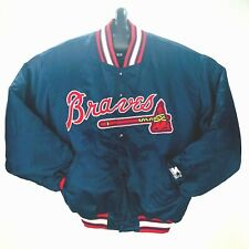 Starter Vintage Diamond Collection Atlanta Braves Starter Mens Jacket Size XL