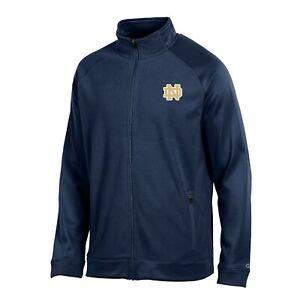 "Notre Dame Fighting Irish NCAA Champion Men's ""Achievement"" Navy Full Zip Jacket"