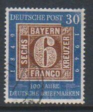 Germany (West) - 1949, 30pf Centenary stamp - F/U - SG 1037