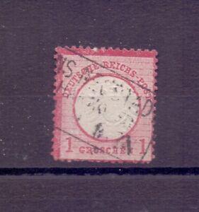 Deutsches Reich 1872 - MiNr. 19 mit Plattenfehler geprüft mit Foto-Befund (456)