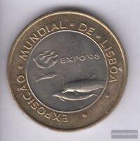Portugal KM-Nr. : 694 1997 Stgl./unzirkuliert Bimetall 1997 200 Escudos Delphine