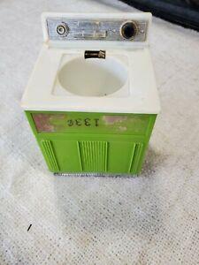 Vintage 1950's Marx Toys Pretty Maid Green Washing Machine