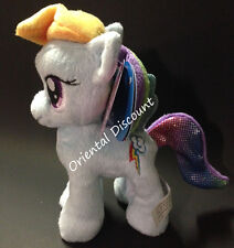 "Aurora World 6.5"" My Little Pony Rainbow Dash Plush Stuffed Toy NEW with Tags"