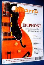 USED MARKET  Rivista musicale : CHITARRE ( Epiphone - Fewel jazz - Van Halen -
