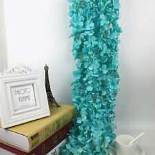 Fake Artificial Flower Hanging Garland Plants Ivy Vine Wedding Party Home Decor