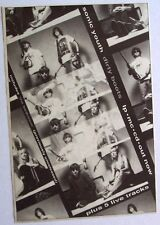 SONIC YOUTH 1991 original Advert DIRTY BOOTS goo