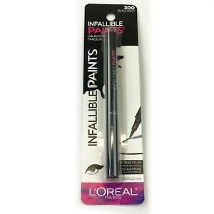 L'Oréal Paris Infallible Paints Liquid Eyeliner, 300 Black Party, 0.034 fl. oz.