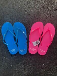 Abercrombie & Fitch flip flops women's small