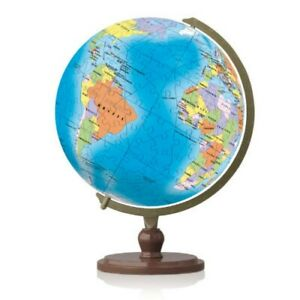 Blue Marble Earth Globe: 3D Pintoo Jigsaw Puzzle Sphere World Map. 240 pieces