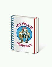 LOS POLLOS HERMANOS-BREAKING BAD Spiral Notebook Journal