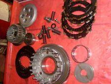 CLUTCH parts YAMAHA 1982 16G  xj 650 turbo seca   BASKET PLATES HUB lot 89