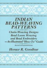 Indian Bead-Weaving Patterns: Chain-Weaving Designs Bead Loom Weaving and Bead E