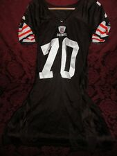 2008 Cleveland Browns Game Used Jersey # 70 Rex Hadnot - Size 52 Brown
