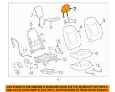 Chevrolet GM OEM 13-15 Spark Driver Seat-Headrest Head Rest 95063839