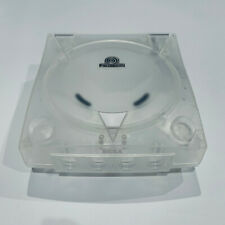 SEGA Dreamcast Console 3rd Party Translucent Case Shell Transparent Clear