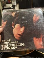 The Rolling Stones Out Our Heads LP. Rare 1969 Stereo Repress. VG.