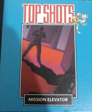 Mission Elevator (Eurogold, 1986) Commodore C64 Tape (Tape, Box, Manual) 100% ok