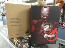Iron Man Battle Damaged Mark VII Hot Toys 1:6 Figure MMS196 Avengers Movie Promo