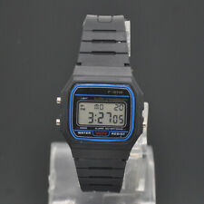 Casio Men's F91W-1 Clasic Black LED Digital Resin Strap Wrist High Quality Watch