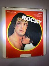 ROCKY I - Original CED VideoDisc (Sylvester Stallone 1976) *Good condition* RARE