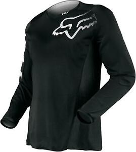 Riding Jersey Blackout Polyester Long Sleeve Black Youth's Large Each