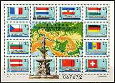 Hungary SG#MS3160 Danube Commission MNH M/S #D33205