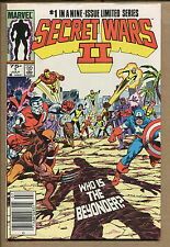 Secret Wars II #1 - Who is the Beyonder? - 1985 (Grade 9.2) WH