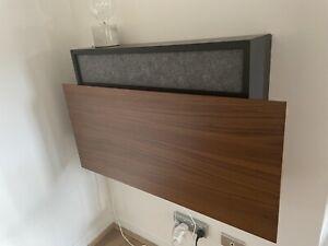 Sleek designer wall desk as-new condition