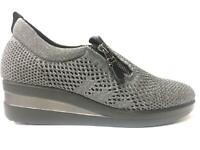 SCARPE SNEAKERS SLIP ON DONNA MELLUSO TECHNO 582 GRIGIO ORIGINALE AI NEW