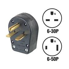 Leviton 30A/50A 250V 3-Wire 2-Pole 6-30P 5-50P Dual Electric Plug R50-931