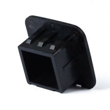 "2"" Hitch Receiver Cover Tralier Hauling Rubber Square Towing Cover Black"