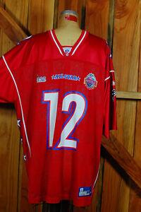 Rare Tom Brady #12 Patriots 2005 Pro Bowl Football Jersey Reebok On Field XL
