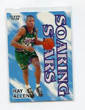 1997-98 FLEER SOARING STARS # 2SS RAY ALLEN , BUCKS