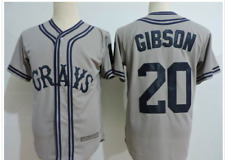 New Replica Josh Gibson Homestead Grays Jerseys! Sizes M-3XL!