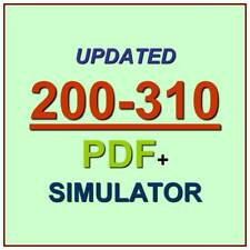 CCDA DESGN Designing Cisco Internetwork Solutions Test 200-310 Exam QA+Simulator