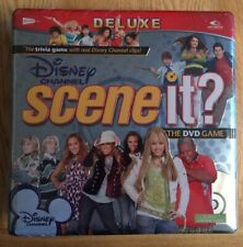 New & Sealed Disney Channel Scene It? DVD Game (2008)