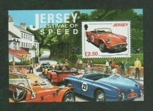 Jersey 2008 Festival of Speed £2.50 Mint MNH Mini Sheet - Cars
